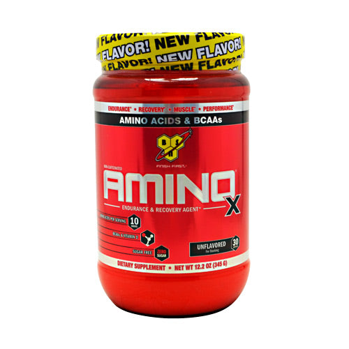 BSN Amino X - Unflavored - 30 Servings - 834266003242