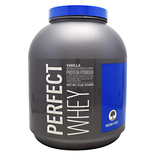 Natures Best Perfect Whey - Vanilla - 5 lbs - 089094021719