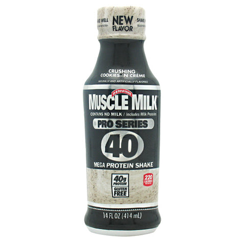 CytoSport Pro Series Muscle Milk Pro Series 40 - Crushing Cookies n Creme - 12 Bottles - 876063002936