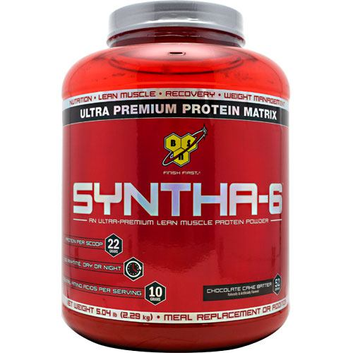 BSN Syntha-6 - Chocolate Cake Batter - 5.04 lb - 834266007424
