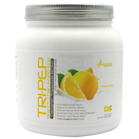 Metabolic Nutrition Tri-Pep - Lemonade - 40 Servings - 764779319939