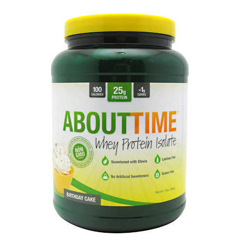 SDC Nutrition About Time - Birthday Cake - 2 lb - 013964575279