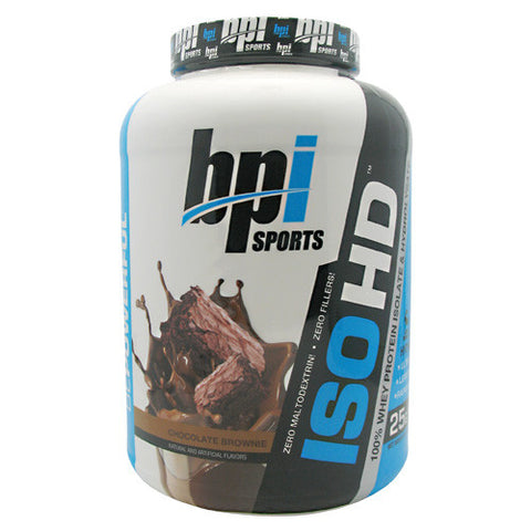 BPI Iso-HD - Chocolate Brownie - 70 Servings - 811213021054