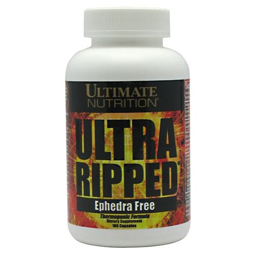 Ultimate Nutrition Ultra Ripped - 180 Capsules - 099071005700