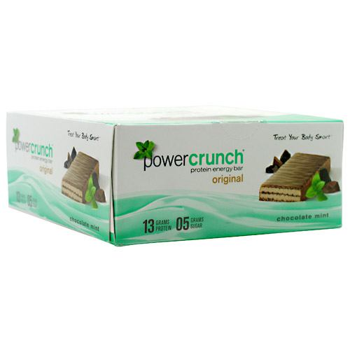 BNRG Power Crunch - Chocolate Mint - 12 Bars - 644225722103