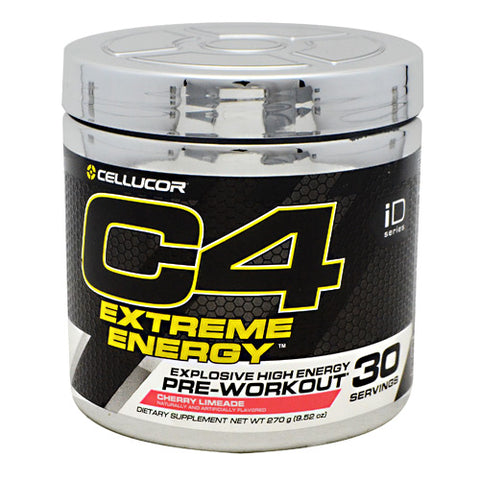 Cellucor iD Series C4 Extreme Energy - Cherry Limeade - 30 Servings - 842595100617