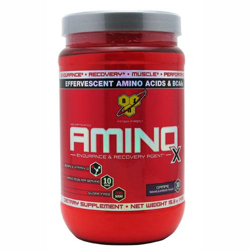 BSN Amino X - Grape - 30 Servings - 834266003365
