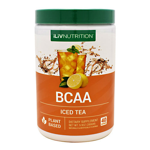 ILIV Nutrition ILIV BCAA - Iced Tea - 40 Servings - 851178006208