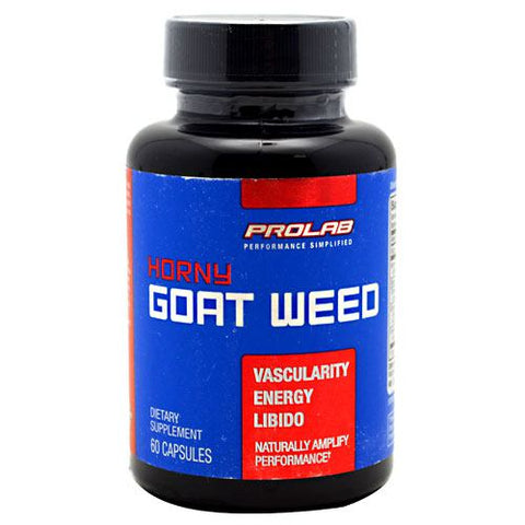 Prolab Horny Goat Weed - 60 Capsules - 750902104695