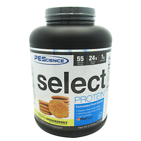 PEScience Select Protein - Amazing Snickerdoodle - 55 Servings - 040232049071