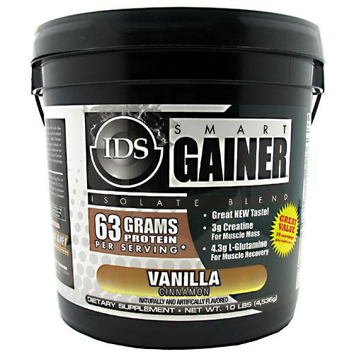 IDS Smart Gainer - Vanilla Cinnamon - 10 lb - 675941000862