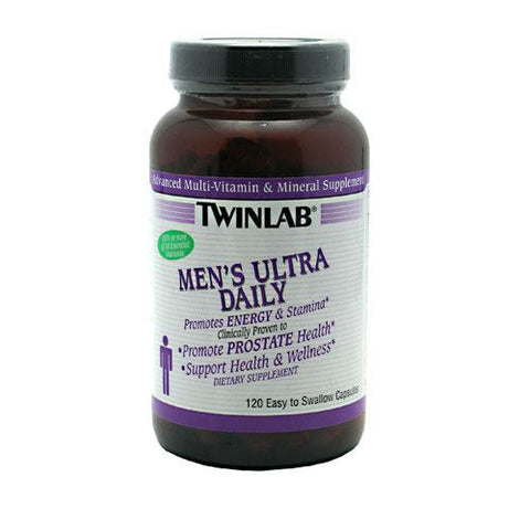 TwinLab Mens Ultra Daily - 120 Capsules - 027434030519