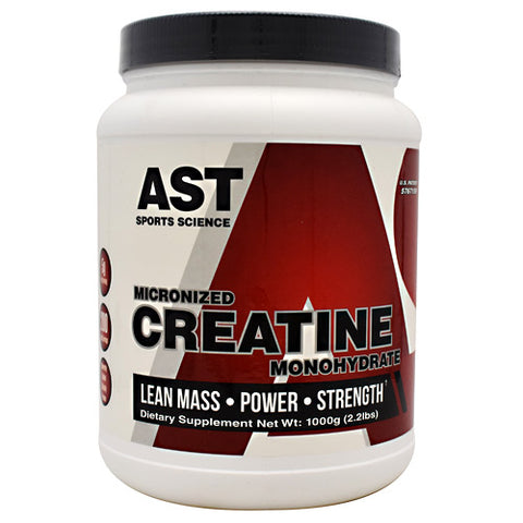 AST Sports Science Micronized Creatine Monohydrate - 1000 g - 705077002420