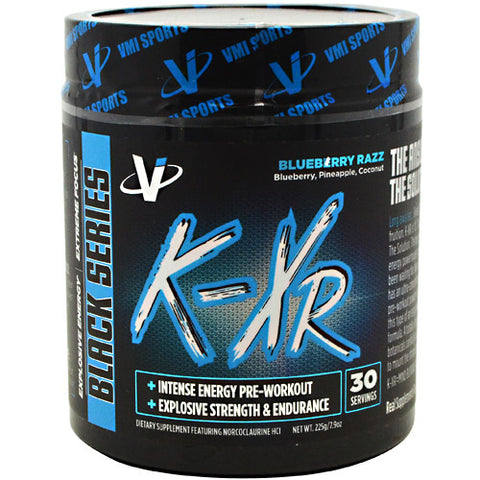 VMI Sports Black Series K-XR - Blueberry Razz - 30 Servings - 850748005412