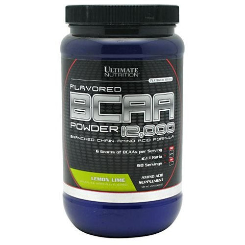 Ultimate Nutrition BCAA 12,000 - Lemon Lime - 457 g - 099071004444