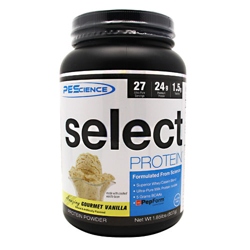 PEScience Select Protein - Amazing Gourmet Vanilla - 27 Servings - 040232199370