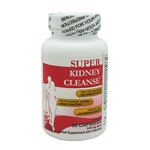 Health Plus Super Kidney Cleanse - 90 Capsules - 083502550020