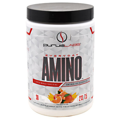 Purus Labs Everyday Amino - Fresh Mango Tangerine - 30 Servings - 855734002598