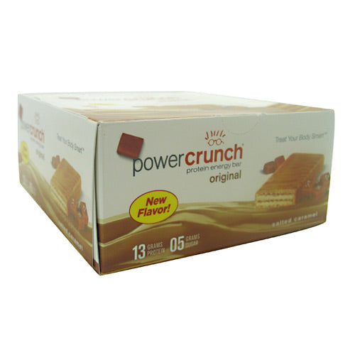 BNRG Power Crunch - Salted Caramel - 12 ea - 644225722707