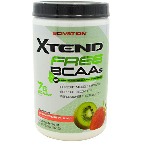 Scivation Xtend Free - Strawberry Kiwi - 30 Servings - 812135021689