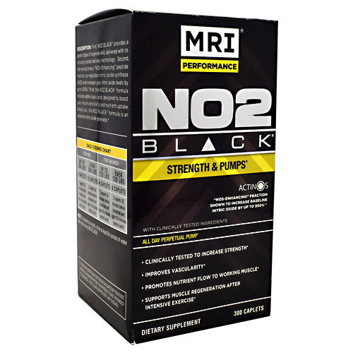 MRI NO2 Black - 300 Caplets - 633012072354