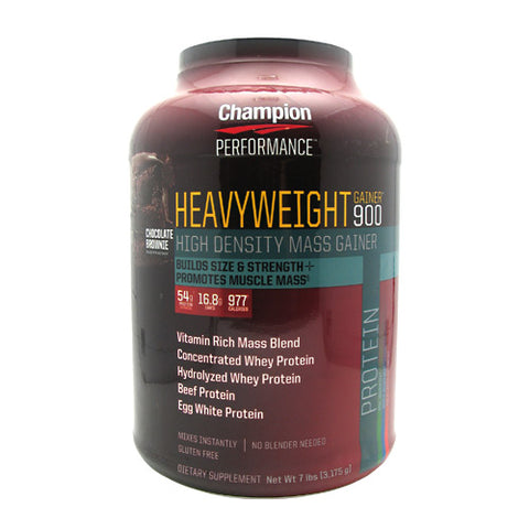 Champion Nutrition Heavyweight Gainer 900 - Chocolate Shake - 7 lb - 027692102805