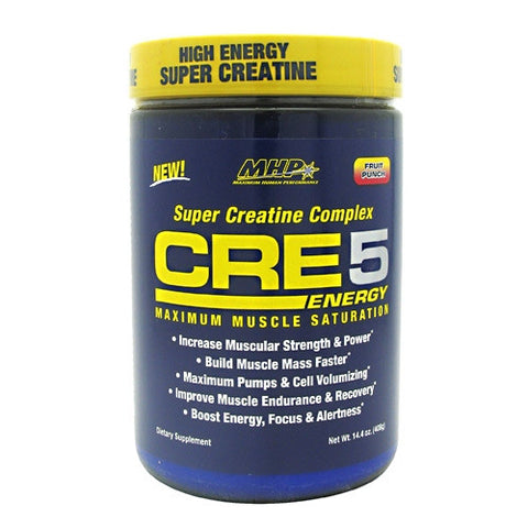 MHP Super Creatine Complex CRE5 Energy - Fruit Punch - 60 Servings - 666222094465