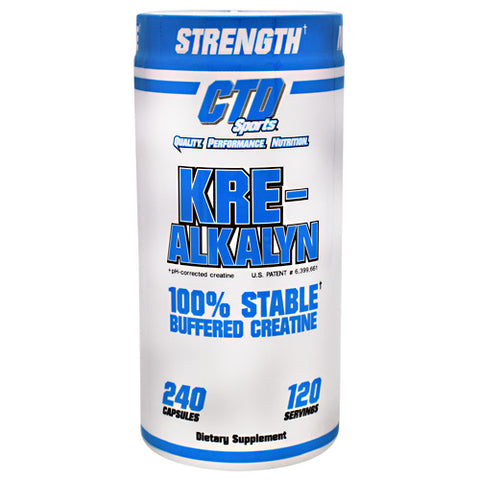 CTD Sports Kre-Alkalyn - 240 Capsules - 094922814678