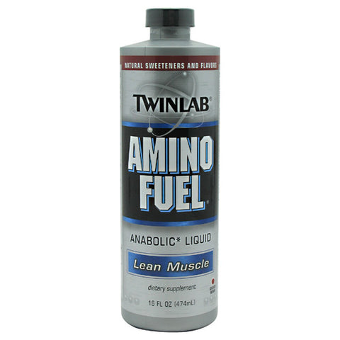 TwinLab Lean Muscle Amino Fuel - Cherry Bomb - 16 oz - 027434033954