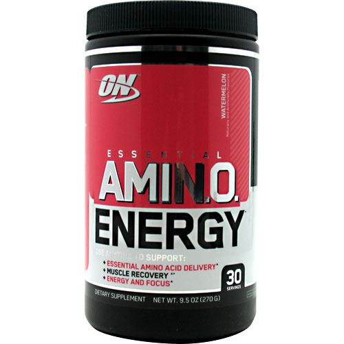 Optimum Nutrition Essential Amino Energy - Watermelon - 30 Servings - 748927026672