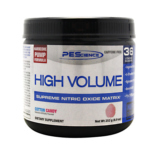 PEScience High Volume - Cotton Candy - 18 Servings - 040232199400