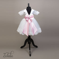 Iris White&Pink Dress