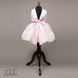 Orchid White&Pink Dress