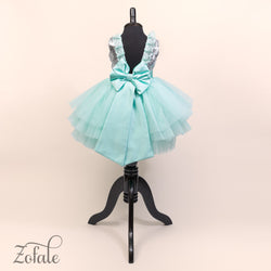 Peony Mint Dress