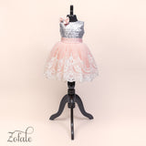 Tulip Silver&Peach Dress