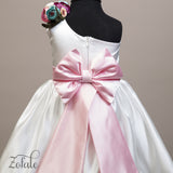 Petunia White&Pink Dress