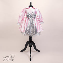 Lily Pink&Silver Dress