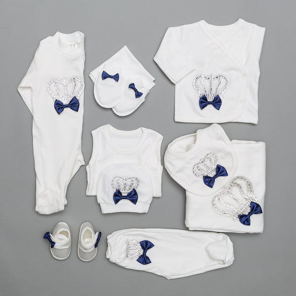 Maxime Navy bleu Set