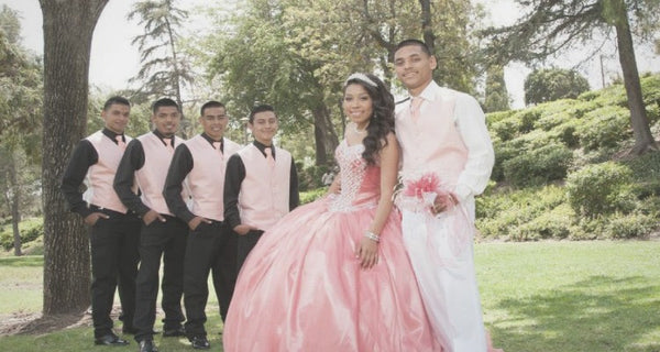 How To Pick A Color Scheme For Quince Chambelan Suits