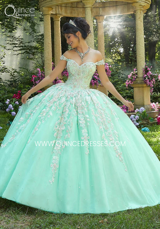 VIZCAYA BY MORI LEE 89264 QUINCEANERA DRESS