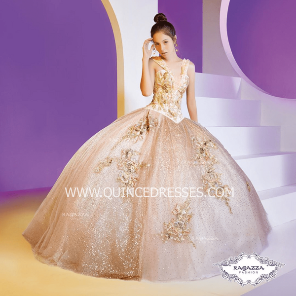 2-PIECE SWEETHEART QUINCEANERA DRESS BY RAGAZZA FASHION D35-535