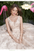 FLORAL APPLIQUE V-NECK QUINCEANERA DRESS BY RAGAZZA FASHION DV26-526