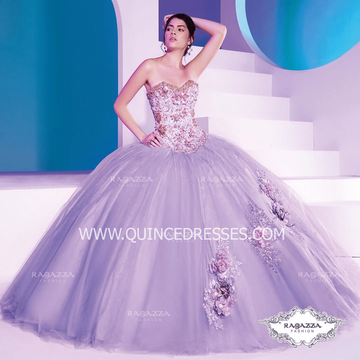 STRAPLESS 2-PIECE QUINCEANERA DRESS BY RAGAZZA FASHION D36-536