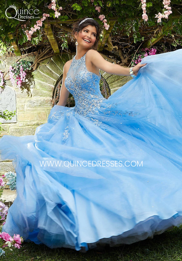 VIZCAYA BY MORI LEE 89266 QUINCEANERA DRESS