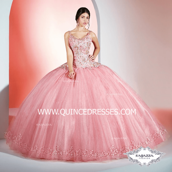 2-PIECE OFF SHOULDER QUINCEANERA DRESS BY RAGAZZA FASHION D38-538
