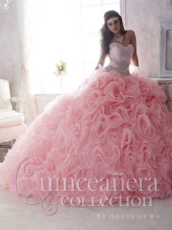 Quinceanera Dress 26801 House of Wu