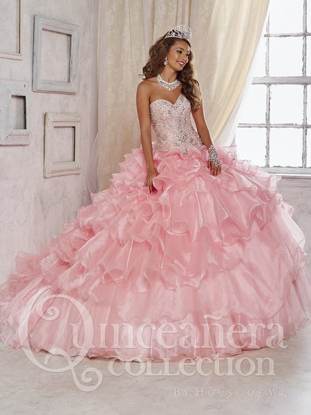 Quinceanera Dress 26824 House of Wu