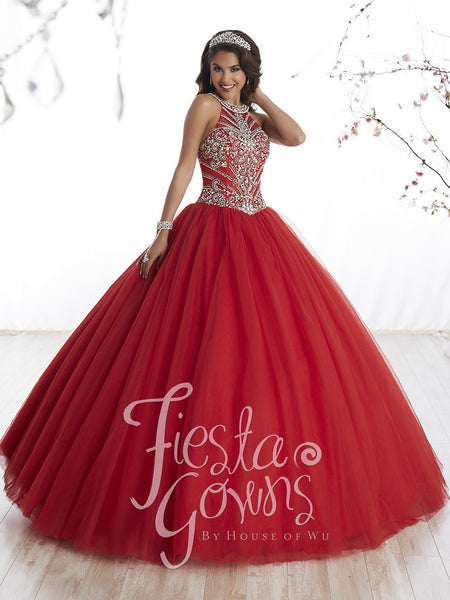 Fiesta Gowns 56326 by House of Wu