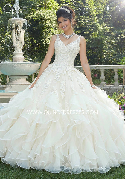 VIZCAYA BY MORI LEE 89262 QUINCEANERA DRESS