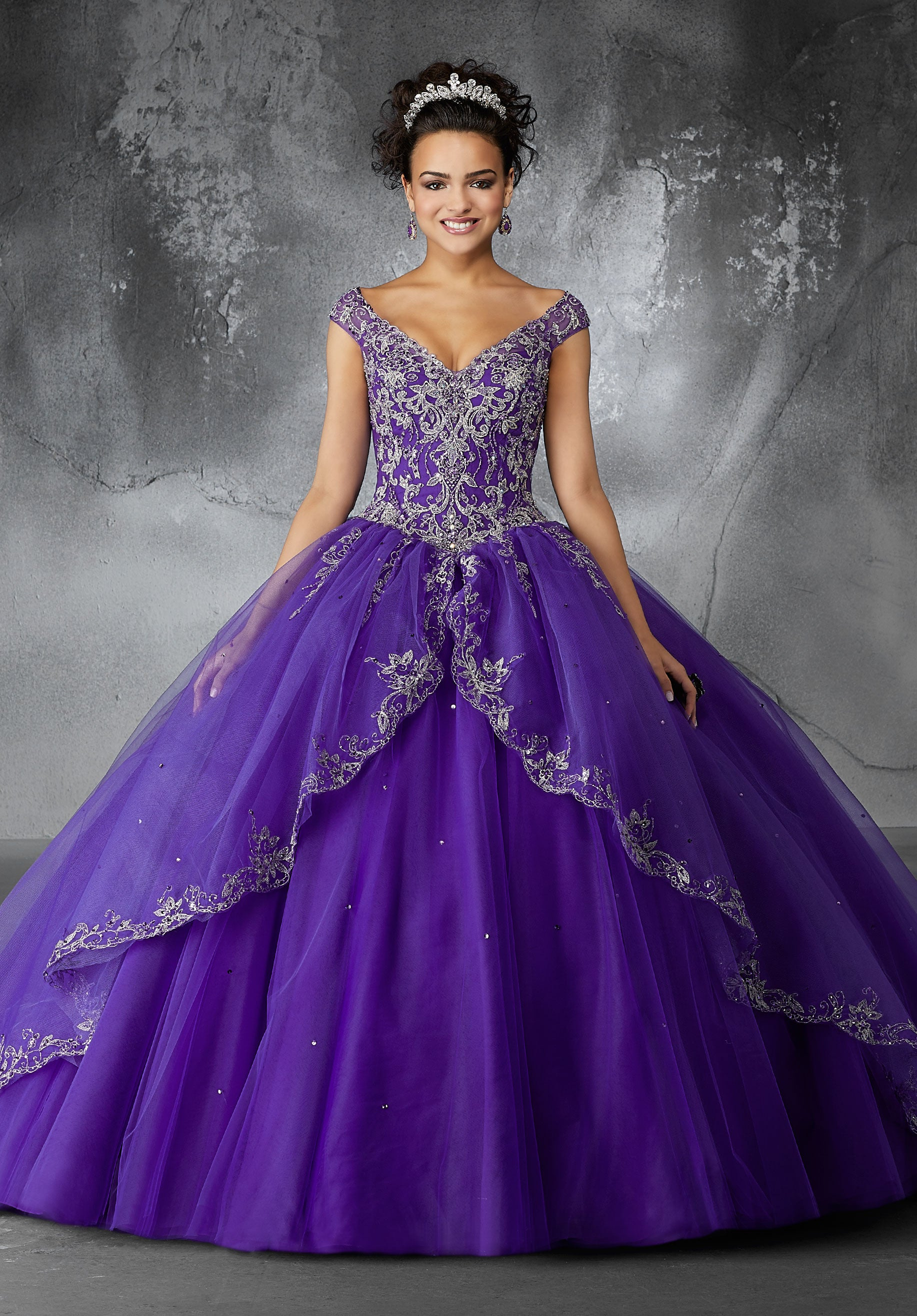 934b113100 Quinceanera Dresses Royal Purple